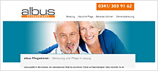 Webdesign / Programmierung / CMS Wordpress für den Pflegedienst Albus in Leipzig
